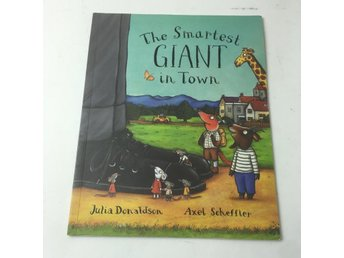 Bok, The Smartest Giant in Town, Julia Donaldson, Häftad