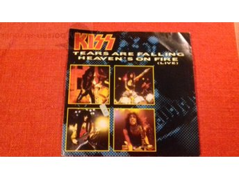 KISS   TEARS ARE FALLING Vinylborsen-skivbutik