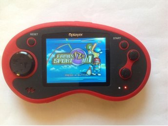 "POCKETSPEL: OVERMAX PORTABLE CONSOLE 2,7"" LCD"