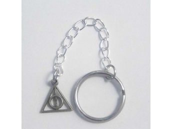 Harry Potter Deathly Hallows nyckelring / keyring