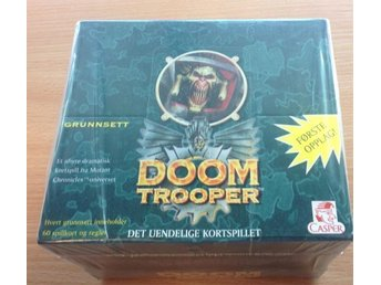 Doomtrooper - Starter Deck - Display med 10 st decks - Norsk version - Sealed