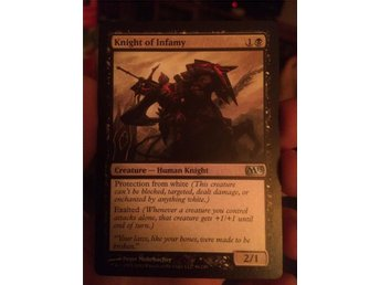 Magic the gathering knight of infamy