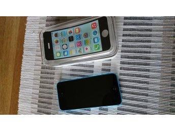 Iphone 5c Blå - Olåst 8gb Toppskick! - Gunnebo - Iphone 5c Blå - Olåst 8gb Toppskick! - Gunnebo