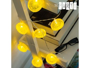 LED girlang Citroner Th3 Party (10 LED)
