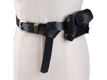 Javascript är inaktiverat. - Hubei - Women Waist Bag PU Leather Belt Pouch Travel Fanny Pack Small Purse Satchel NewMaterial: Faux leatherColor: BlackWaist belt: Adjustable, 70-86cmPackage: 1x Women Waist Bag Due to the dimensions are measured by hand, there may be 1-3cm deviations.I - Hubei