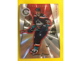 TRAVIS GREEN: 1997-98 Pinnacle Totally Certified Platinum Red #123 6199ex