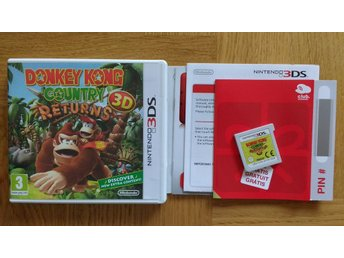 Nintendo 3DS: Donkey Kong Country Returns 3D