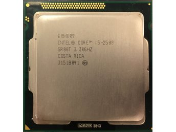 Intel® Core™ i5-2500 Processor 6M Cache, 3.30 up to 3.70 GHz