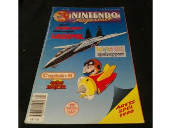 Nintendo Magasinet Nr 5 1991 inkl. Power Player