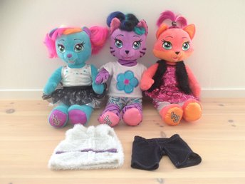 Build a Bear! 3 st Honey girls!
