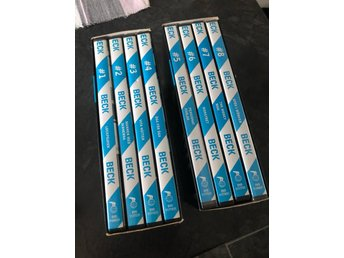 Dvd box - Beck - Box med dvd 1-8