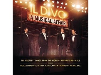 Il Divo: A musical affair 2013 (CD)