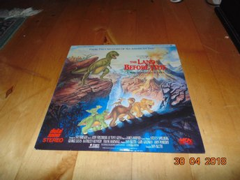 The land before time - 1st Laserdisc