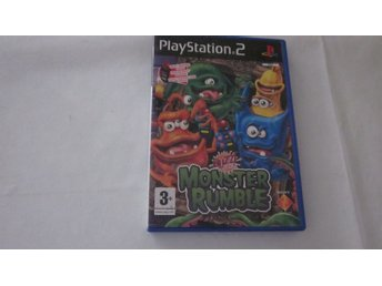 Play Station 2 Monster Rumble
