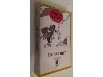 TINTIN I TIBET Kassettband utgiven 1978