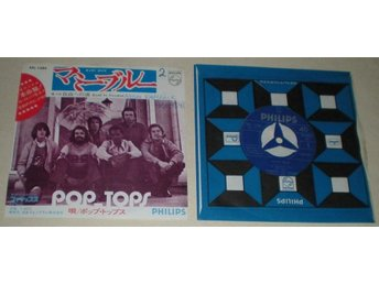 Pop Tops 45/PS Mamy blue JAPAN 1971
