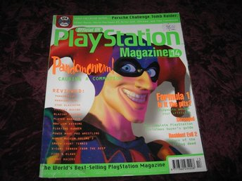 PLAYSTATION MAG DECEMBER 1996 (PANDEMONIUM) TIPS OCH FUSK TEKKEN 2