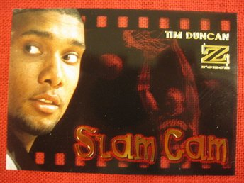 TIM DUNCAN RC - SLAM CAM  - 1997-98 Z-FORCE - BASKET