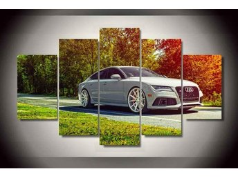 Canvas tavla 5 delad Audi RS7
