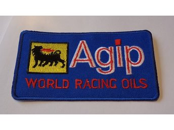AGIP WORLD RACING OILS  NYTT  TYG MÄRKE !!!!!