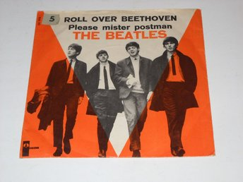 "THE BEATLES - ROLL OVER BEETHOVEN  7""  DANMARK NEAR MINT"