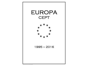 EUROPA CEPT STAMP PDF DIGITAL ALBUM PAGES 1995-2016 INGA FRIMÄRKEN!!