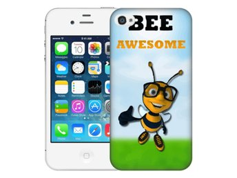 iPhone 4/4s Skal Bee Awesome