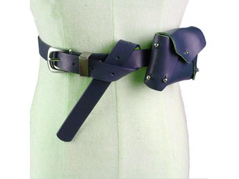 Javascript är inaktiverat. - Hubei - Women Waist Bag PU Leather Belt Pouch Travel Fanny Pack Small Purse Satchel NewMaterial: Faux leatherColor: BlueWaist belt: Adjustable, 70-86cmPackage: 1x Women Waist Bag Due to the dimensions are measured by hand, there may be 1-3cm deviations.It - Hubei