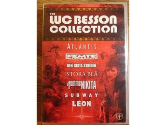 DVD - The Luc Besson Collection - dvd-box - 7 filmer!