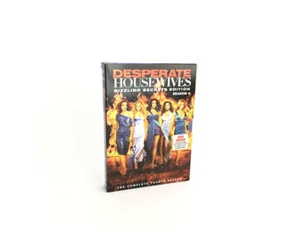 DVD Desperate Housewives säsong 4 Sizzling Secrets Edition