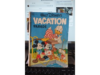Walt disney VACATION parade 1952