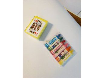 MINIKRITOR CRAYON JUNIOR PLAYING CARDS 4CM