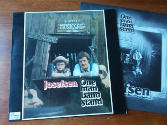 JOSEFSEN - One man band stand, LP Mill Records 1982 Medlem Country Snakes Norge
