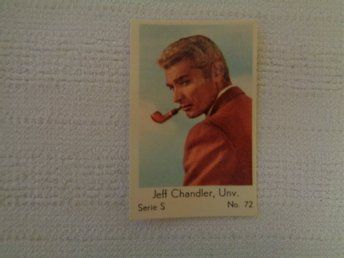 Nr 72 Jeff Chandler- Serie S 1957- Stor text.