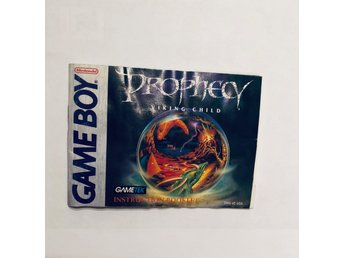 Prophecy Viking Child (Engelsk manual Game Boy USA)