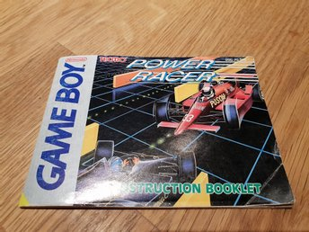 Power Racer SCN Manual GAME BOY