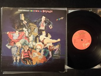 SEX PISTOLS - THE GREAT ROCK N ROLL SWINDLE - 1980 SCANDINAVIA V2168 COMPILATION