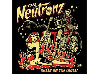 Neutronz - Killer On The Loose CD NY - FRI FRAKT