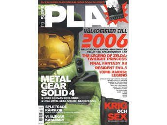SUPER PLAY  NR 119  - METAL GEAR SOLID 4 , KRIG OCH SEX....