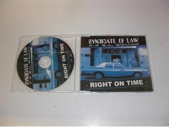 Syndicate of law  -  Right on time  -  Maxi