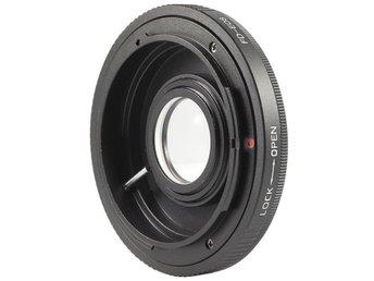 AF Confirm Canon FD Lens to Canon EOS EF mount / With Glass - Trollhättan - AF Confirm Canon FD Lens to Canon EOS EF mount / With Glass - Trollhättan