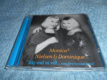 Monica Nielsen Monica Dominique - Säg vad ni vill (CD) NM/EX - Göteborg - Monica Nielsen Monica Dominique - Säg vad ni vill (CD) NM/EX - Göteborg