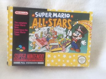SNES Super Mario All Stars, 4 spel i ett