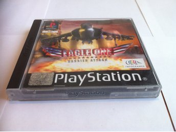 PS1/PSone: Eagle One: Harrier Attack