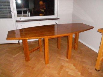 Matbord med klaffar i ek - Bromma - Matbord med klaffar i ek - Bromma