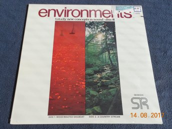 Quad LP ENVIRONMENTS Psychoacoustic Sound Disc 8, USA - INPLASTAD! Segelbåt