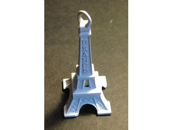 Eiffel torn 5cm Vit antique Paris France