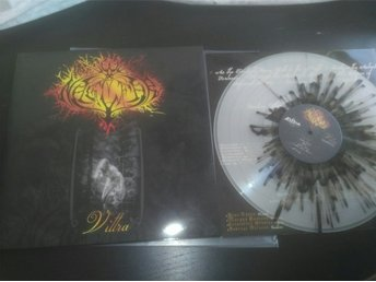 Naglfar - vittra Lp clear black splatter 100x! (Dissection dawn mgla)