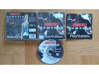 PlayStation/PS1: Resident Evil 3: Nemesis