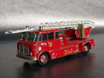 Matchbox King Size No 15 Merryweather Fire Engine Brandbil